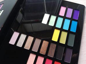 Jeremy Scott MAC eyeshadow palette closeup