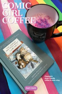 Comic Girl Coffee Pinterest